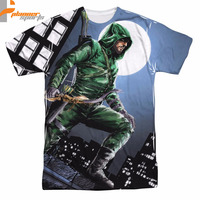 Arrow TV Series Night Watch Planner Sports Sublimation Poly Adult Shirt S-3XL