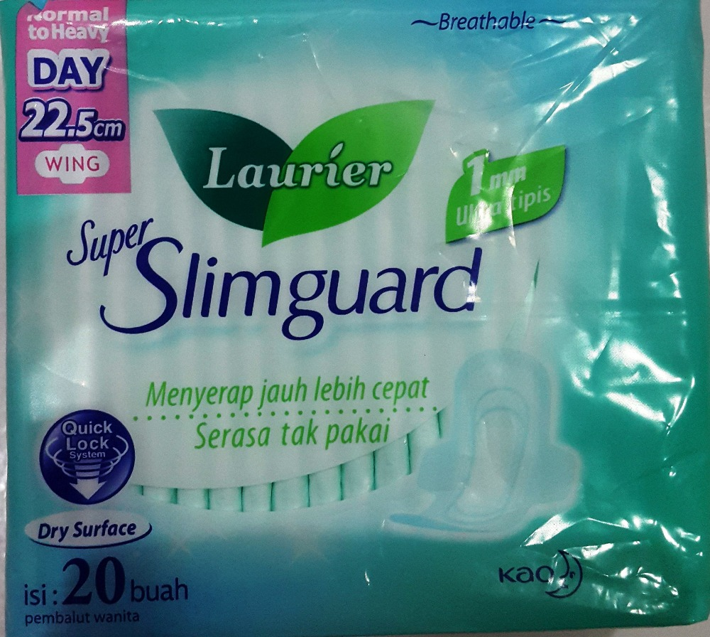 LAURIER Super Slim Guard NORMAL TO HEAVY DAY Wing 20s