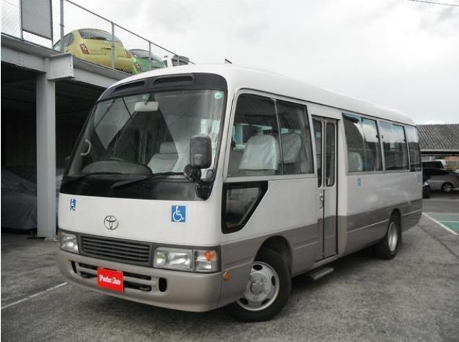 Reliable and High quality used toyota coaster buses for sale with multipul functions made in Japan