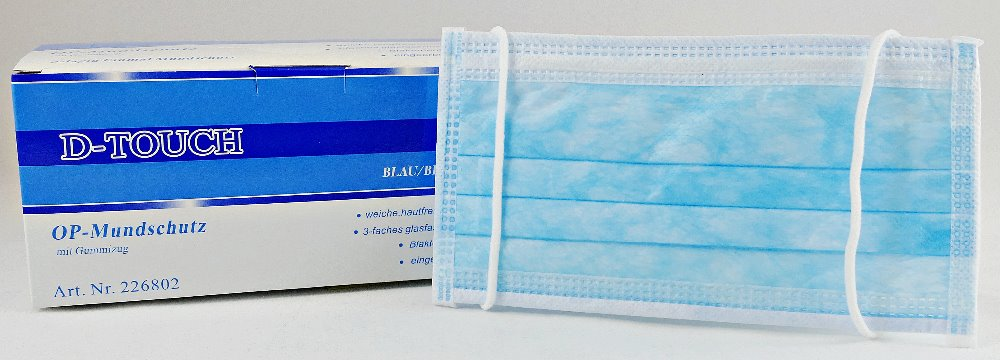 surgical mask blue