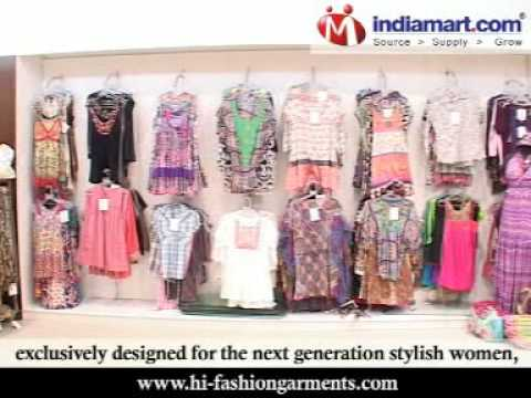 Ladies Fashion Garments, Ladies Designer Garments, Ladies Hi-Fashion Garments