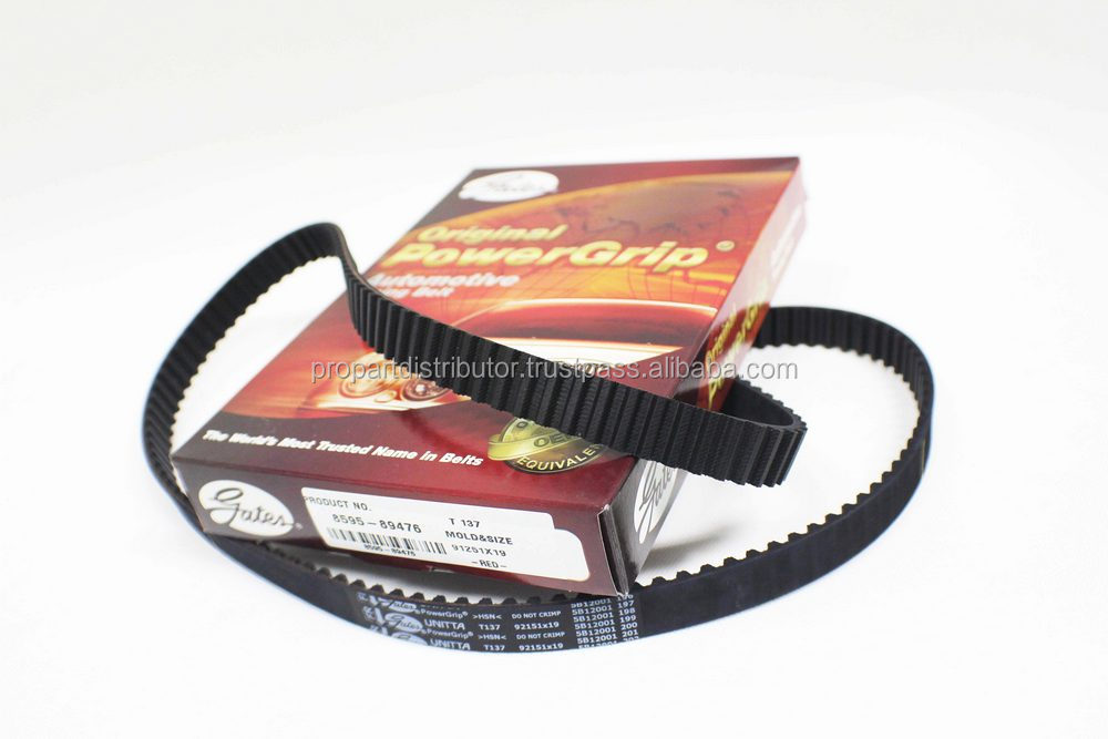 Timing Belt GATES T137 SUNNY, SENTRA B12 200S, 119E/80, 100, A6 T137 japan car part and others auto part
