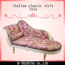 Italian classic style ball and claw feet sofa furniture sale , small lot order available