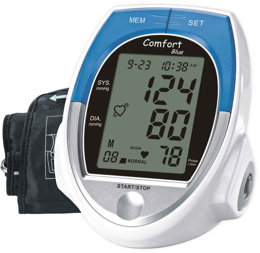 Operon COMFORT Blue: Arm Type Blood Pressure Monitor