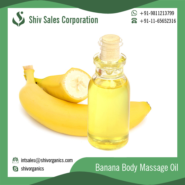 Best Quality Banana Oil for Healthy Hair and Skin