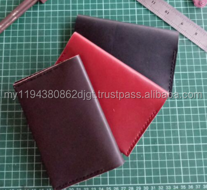 Genuine Leather Handmade Passport Wallet / Holder