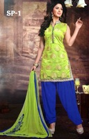 DESIGNER PATIALA SUITS FOR LADIES