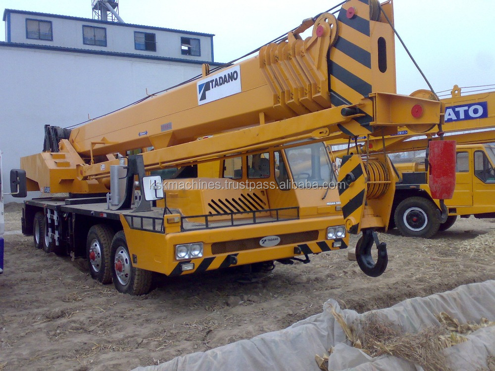 65T GT650E Used mobile crane 2hand original japan TADANO truck crane for sale