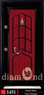 Classical Mahogany & Oak door