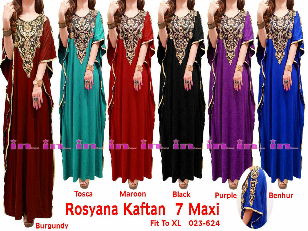 cheap abaya Morrocan kaftan maxi dress embroidery caftan 2016