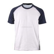 Latest T Shirt Designs Summer Short Sleeve Slim Fit Blank Raglan For Men Sports Wear wholesale