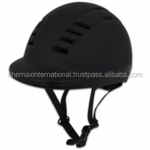 Horse Riding Helmet Black L 60 - 62cm Protect Adjustable Light Weight Comfort