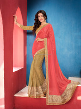 Fancy Indian Women By Bahubali Color Combination Saree