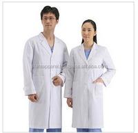 white lab coat medical unisex doctor coats jackets nursing men women long coat & uniform