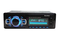 Sound Boss SB-33 Bluetooth Wireless With Phone Caller Id Receiver Car Media Player (Single Din)