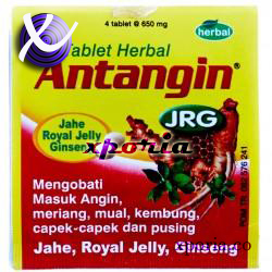 ANTANGIN JRG Health Supplement 4R 50 x 20 strips | Indonesia Origin | Over the counter medicine for cold and gassy symptoms