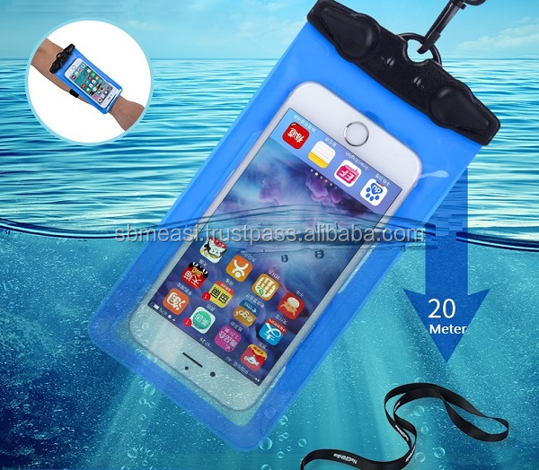 NatureHike Waterproof Protective ABS + PVC Case for 6 Inchi Touch Cellphone with International standard IPX8 water proof