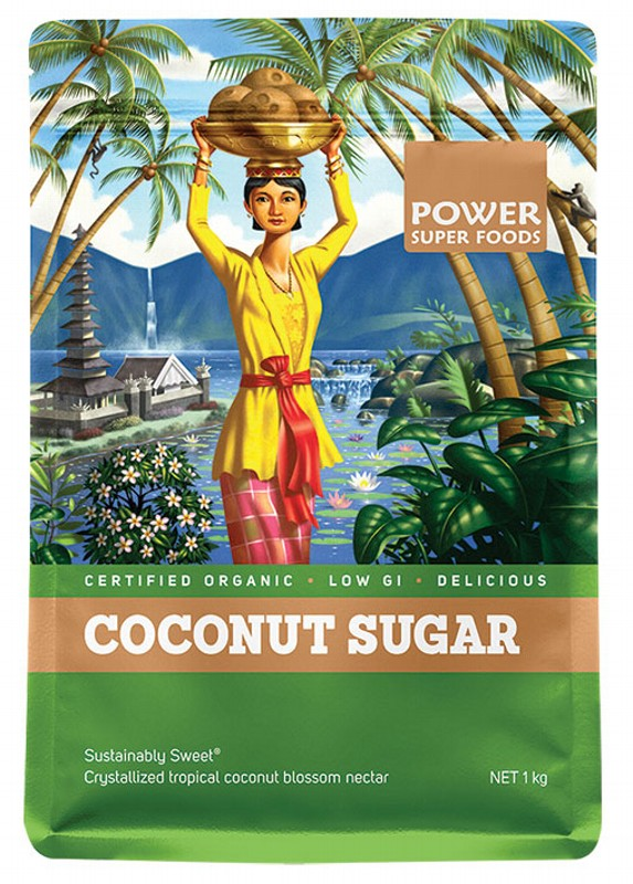 POWER SUPER FOODS Sustainably Sweet Coconut Palm Sugar 1kg