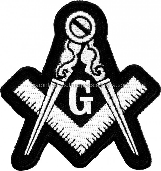 Customized Masonic embroidered patch | embroidery patch