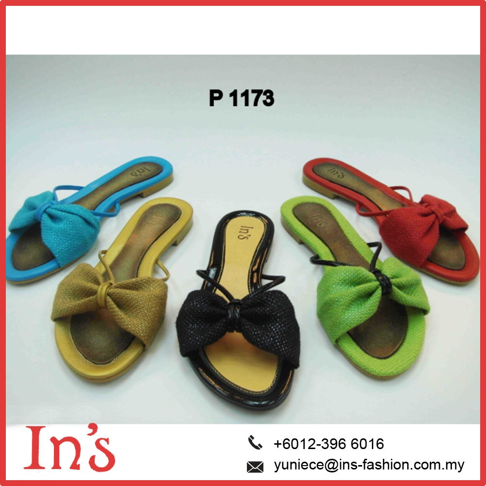 Malaysia women flat thong sandals shoes in 2017