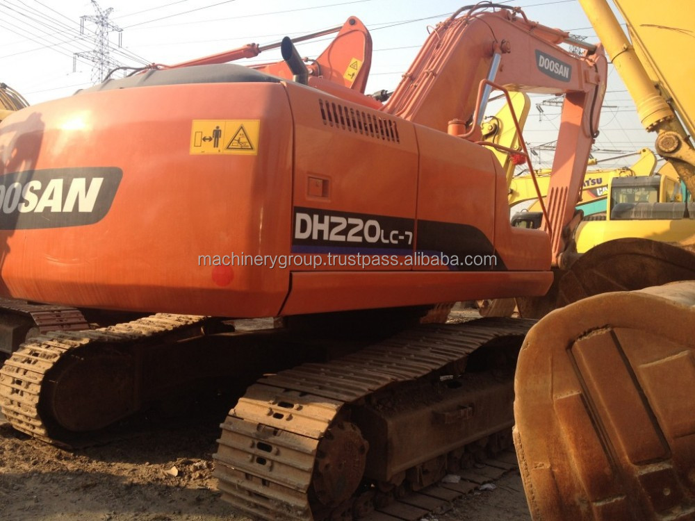 Used Doosan Crawler Excavator DH220LC-7,in good condition