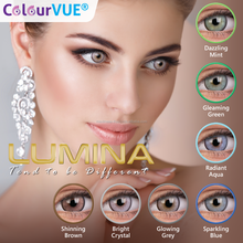 Lumina Exclusive Color Contact Lenses QUARTERLY