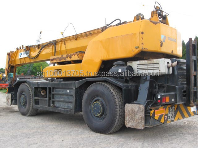 used tadano 4 wheels crane used japan rough terrain crane capacity 50ton original japan rough terrain cranes