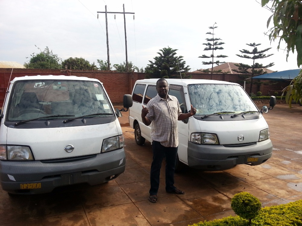 Good condition and High quality used nissan vanette van for industrial use