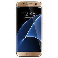SG S7 Edge 32 GB Unlocked Phone - G935FD Dual SIM - International Version - Platinum Gold