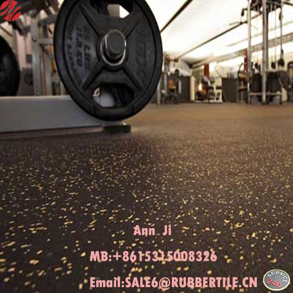 gym rubber mat fitness equipment anti fatigue floor mat