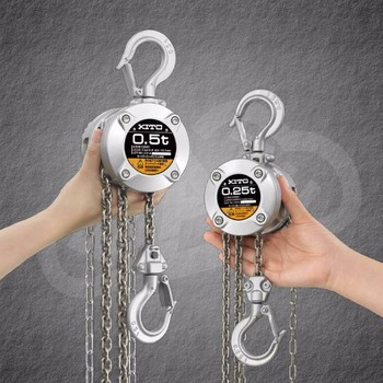 Durable and High quality standard hoist, KITO Chain hoists CX series with High-precision made in Japan