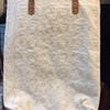 Dobbytex Best Selling Thai Cotton floral white lace tote bag with leather strap