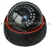 Outdoor IP Camera, Dome CCTV Camera, High Resolution 720