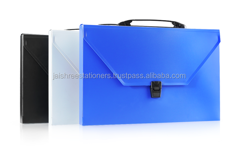 Document Case folder with handle, Office Stationery