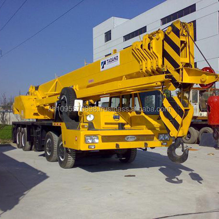 Japan 55ton truck crane, model 2006 Tadano GT550E cranes for sale