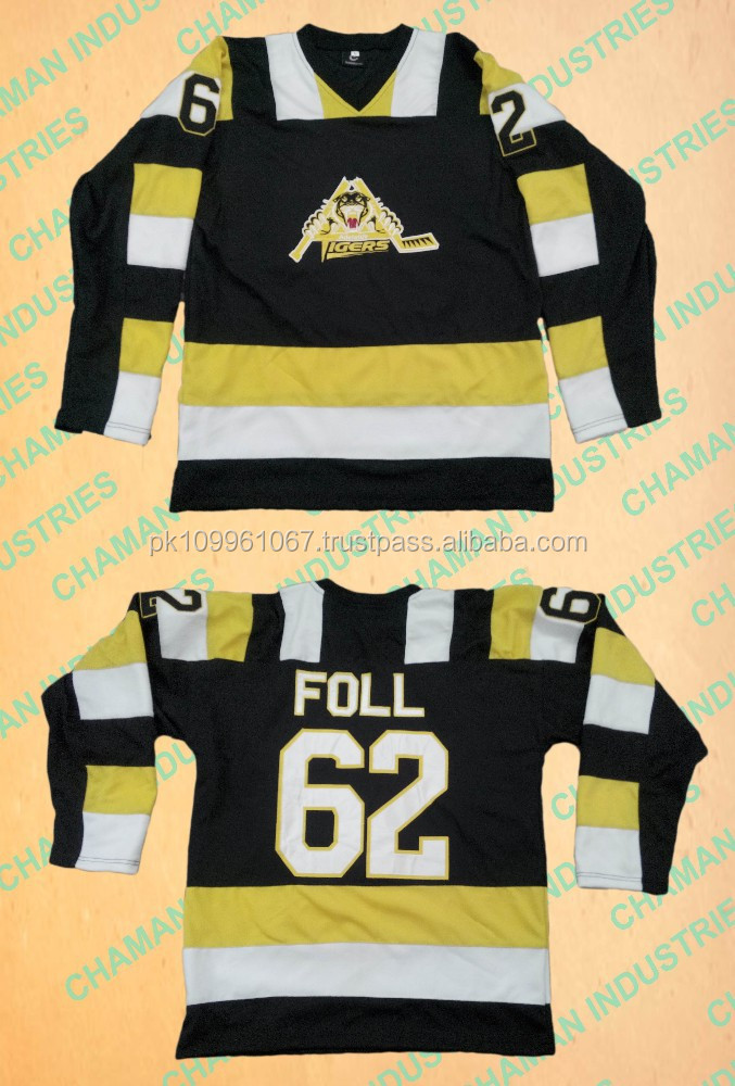 Ice Hockey Jersey with tackle twill