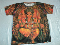 MULTI COLOURS PRINTS INDIAN GODS PRINTED T-SHIRTS wholesale prices