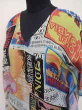 Newspaper printed swimmwear ponchos dress & kaftans for womans / polyester swimmwear dresses