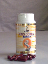 PENIS GROWTH MEDICINE KINGCOBRA capsules