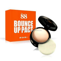 Ver.88 Bounce Up Pact Face Powder Makeup Waterproof Sunscreen White Radiant 12 g