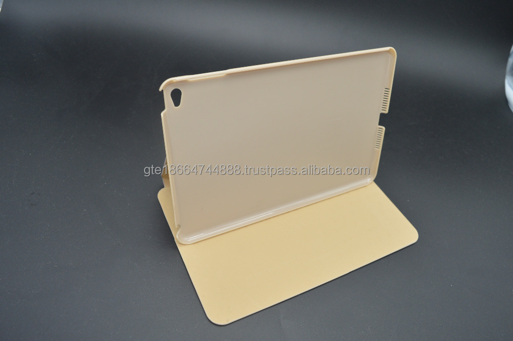 New 2015KAKU Folded ptotective case for ipad mini 4 flip stand leather case For Apple iPad mini 4