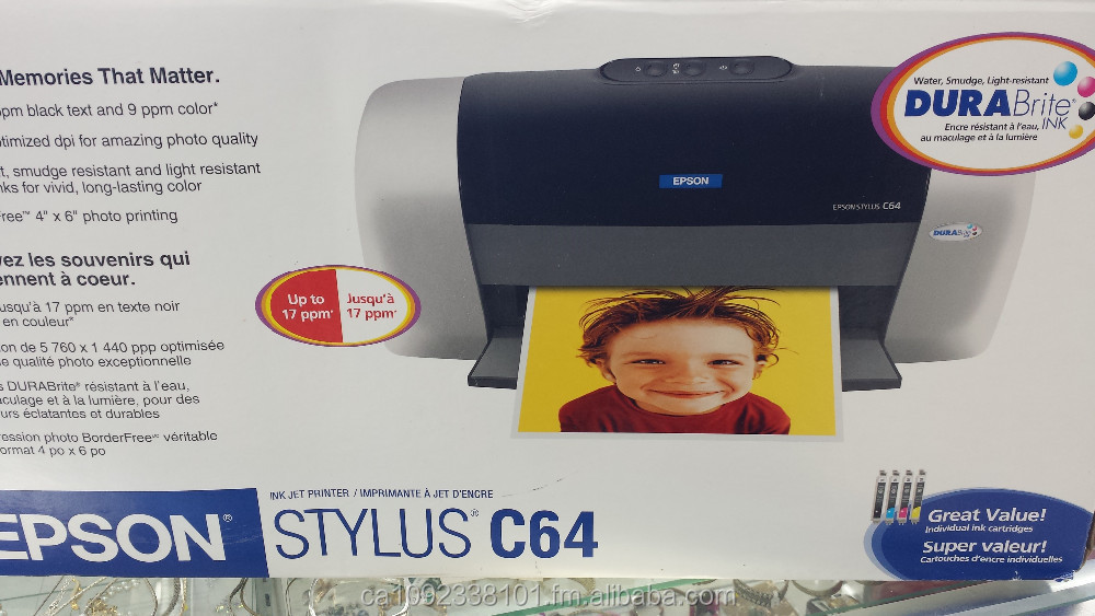 BRAND NEW! Epson Stylus C64 Standard InkJet Photo Printer