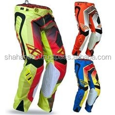 Custom Sublimation Cordura Motocross Pant Motocross Gear