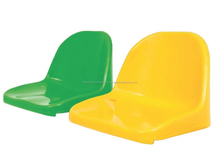 Gama PP Fixed Plastic Stadium Seat with Backrest