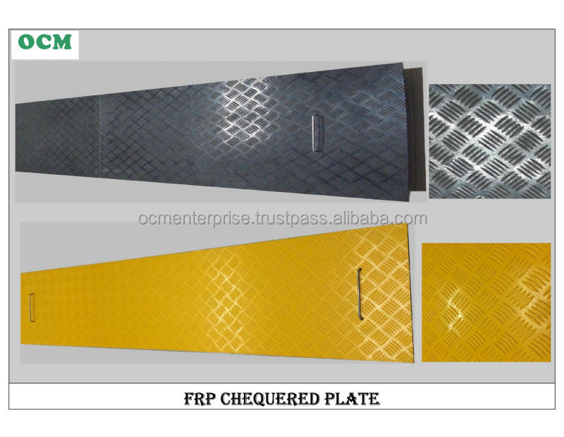 FRP Chequered Plate, Checker Plate, Chequere Plate