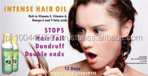 Herbal Hair Oil- OBM/Private label Services