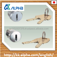 Japanese cylinder lock for company offices, department stores, factories and used clothes for baby shops in China made by ALPHA.