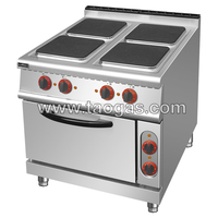 4-Plate Electric Cooker with Oven NT-905A