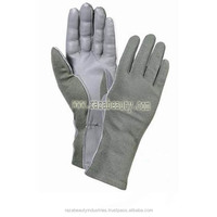 Screen Touch Smart Phone Nomex Pilot Gloves / Nomex Flight Gloves / Nomex Flyers Gloves