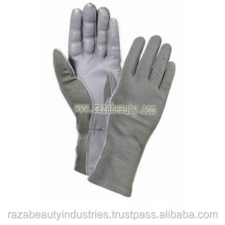Touch Screen Smart Phone Nomex Pilot Gloves / Nomex Flight Gloves / Nomex Flyers Gloves